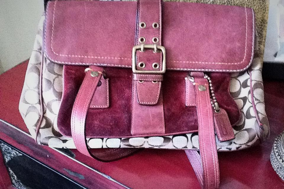 Coach bag like new Large Photo