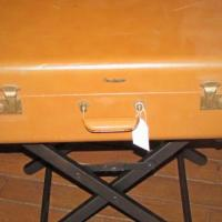 Vintage Suitcase Side Table Photo