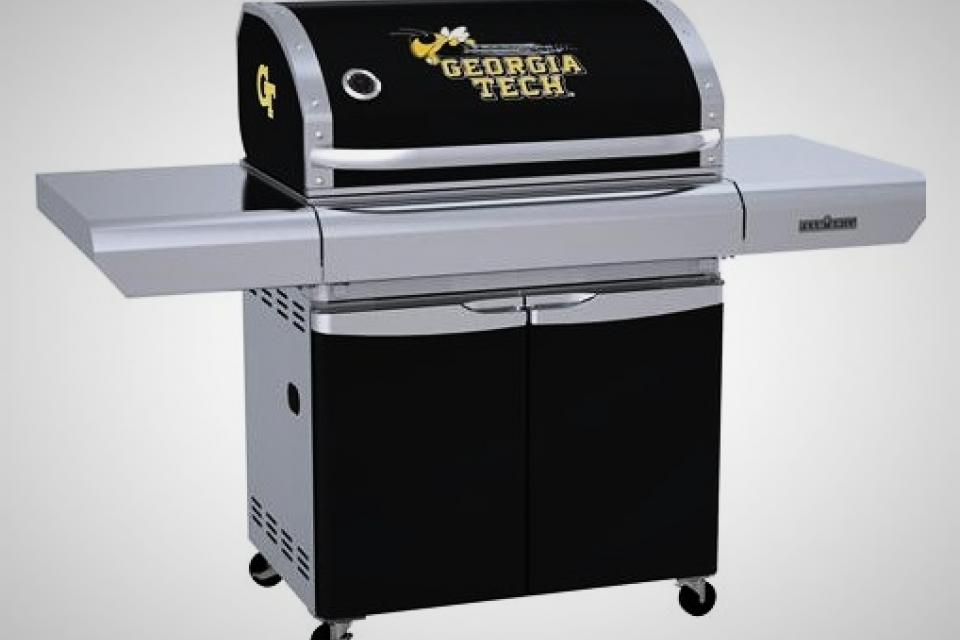 Georgia GA Tech BBQ Patio Team High end Gas Grill MVP New in box Large Photo