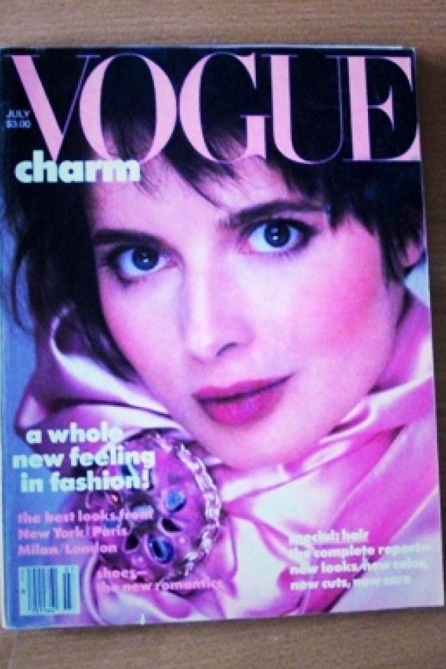 80s VOGUE magazines:  4 from the 80s Photo