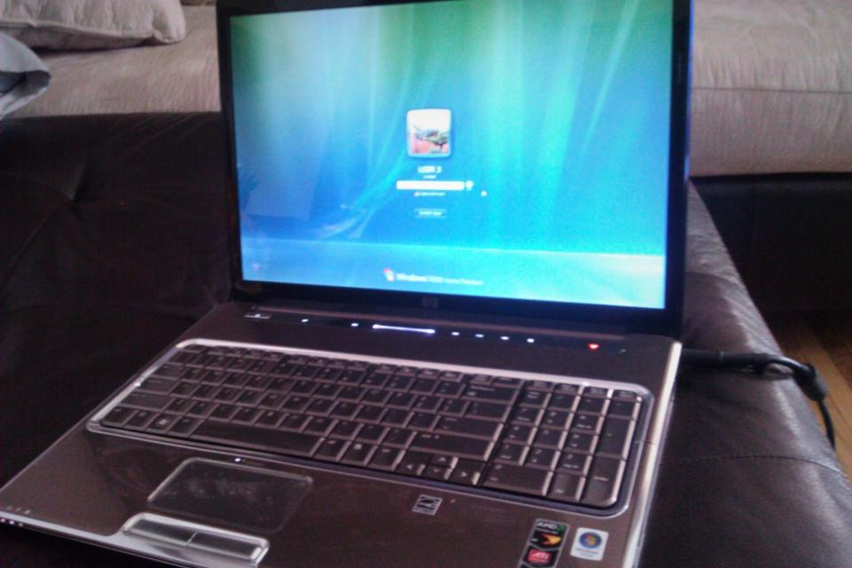 NEWER HP WIDESCREEN LAPTOP, 2 YRS Large Photo
