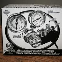 NEW IN THE BOX—AQUATEK Dual-gauge CO2 Pressure Regulator Photo
