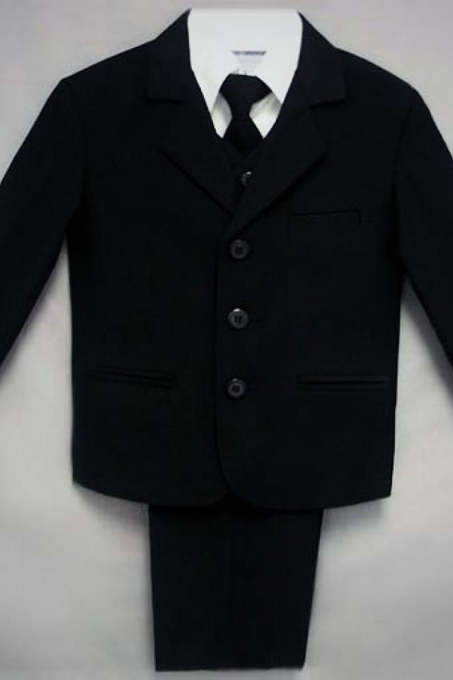 5 piece black suits. Size 20 Photo