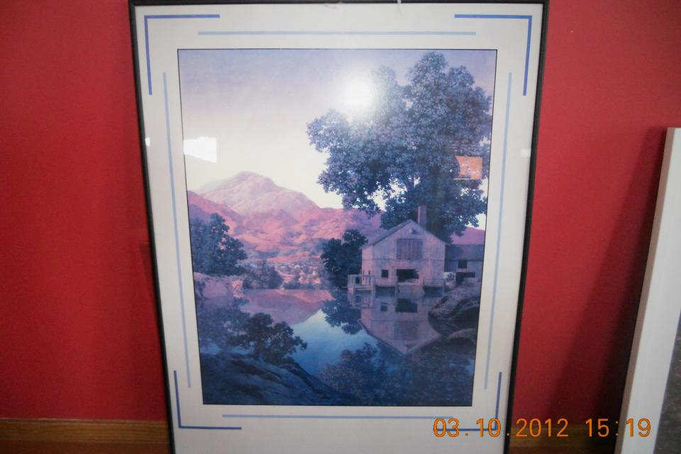 Maxfield Parrish print Large Photo