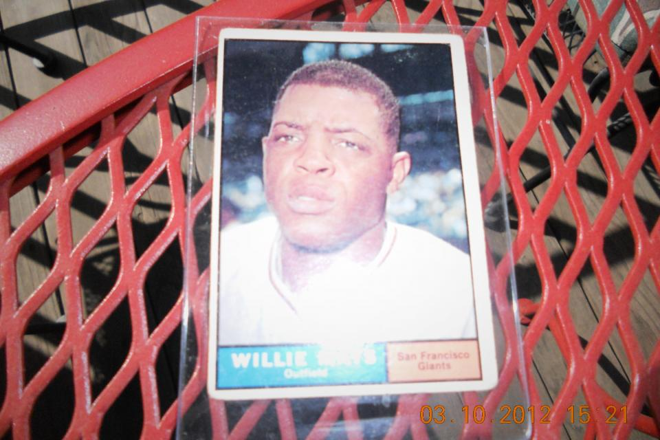 Willie Mays Large Photo