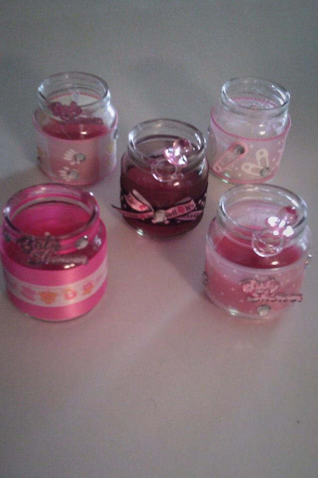 Baby Jar Candle favor Photo