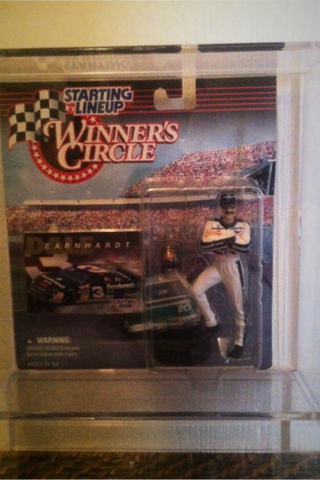 1997 Dale Earnhardt Stating Lineup Photo