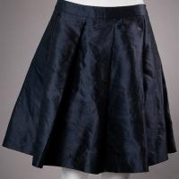 Navy Miu Miu Skirt Photo