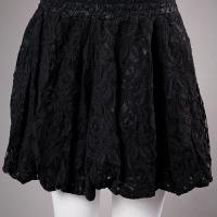 Black Lace H&M Bubble Skirt Photo
