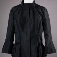 Black Diane Von Furstenberg Jacket Photo