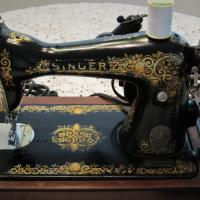 1920's Vintage Antique Singer Sewing Machine  Photo