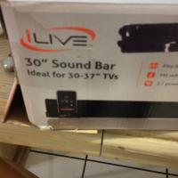 I live sound bar brand new in box Photo