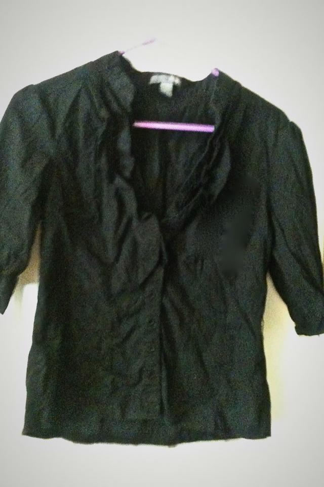 Black button up,Size large Photo