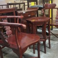 Rosewood Tea Table set Photo
