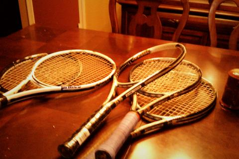 Prince Tennis Rackets Photo