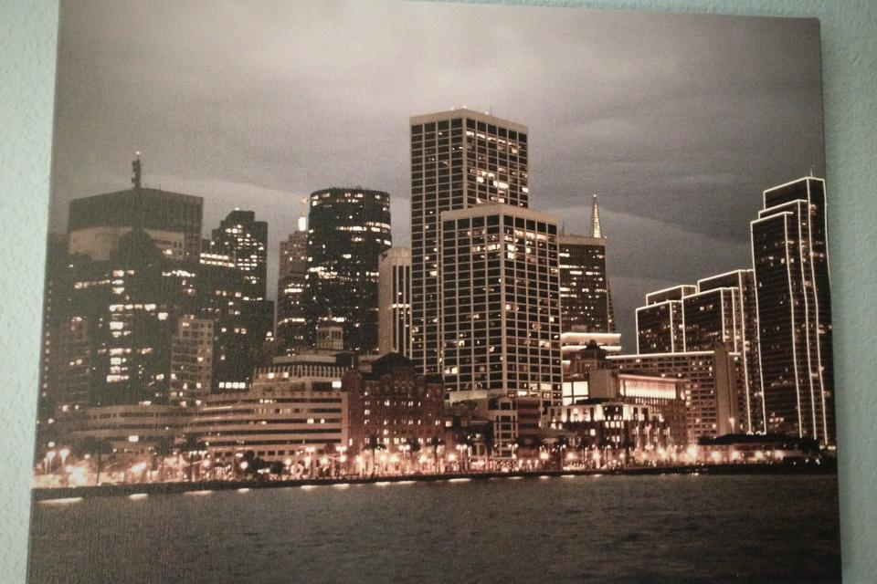 San Francisco city scape.  Large Photo