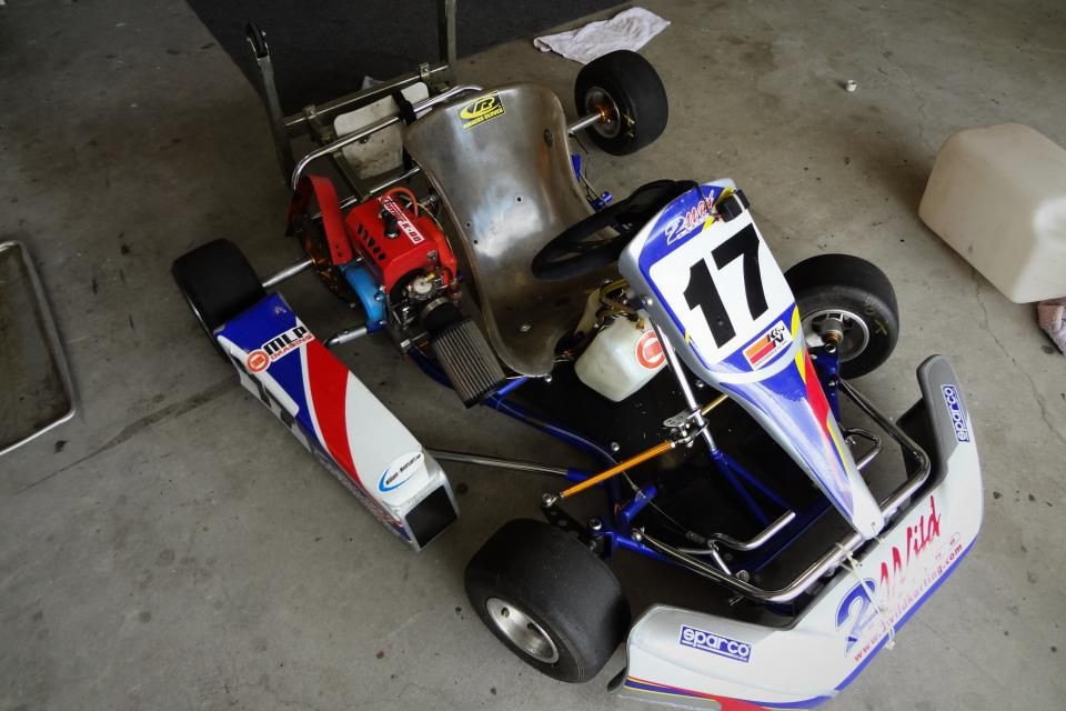 Racing Go kart Large Photo