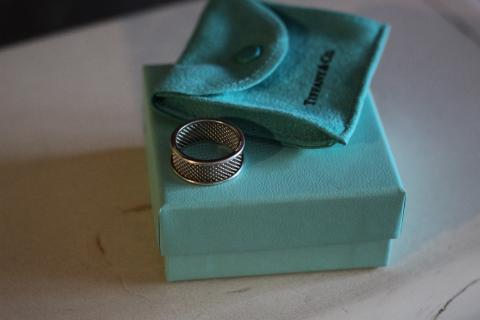 Tiffany & Co Silver Ring Photo