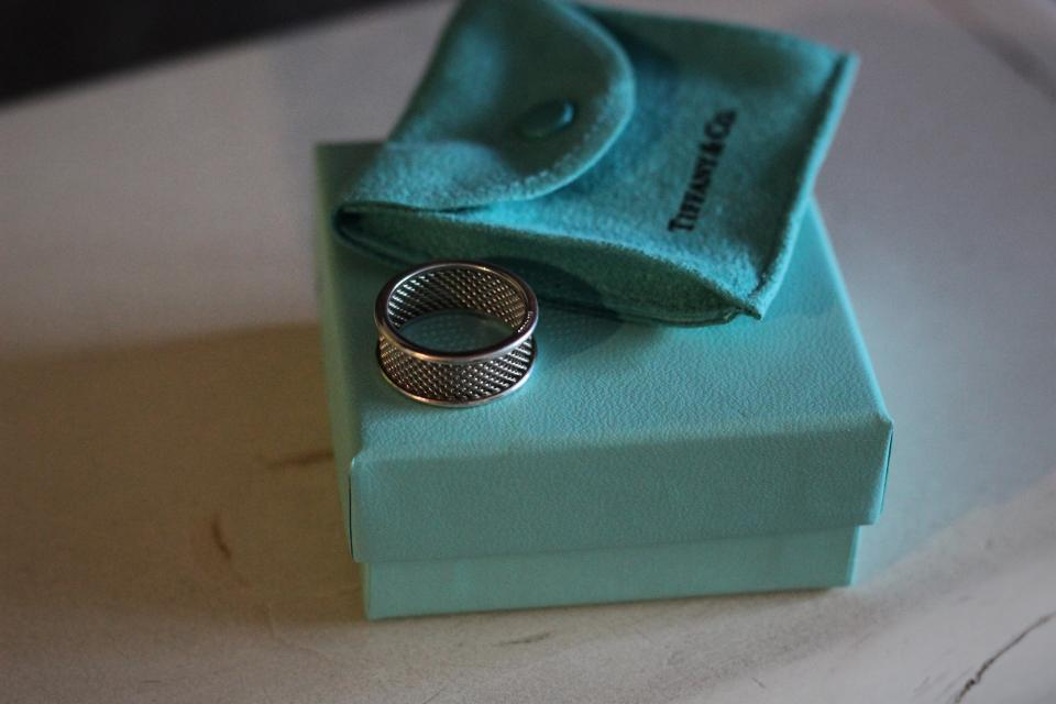 Tiffany & Co Silver Ring Large Photo