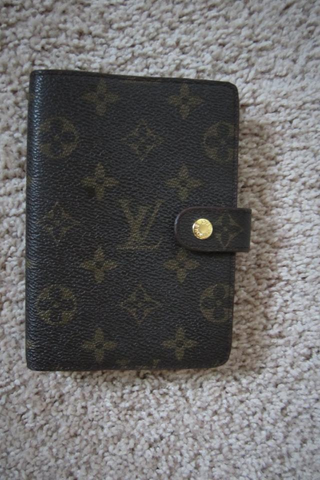 AUTHENTIC VINTAGE LOUIS VUITTON ADDRESS BOOK Large Photo