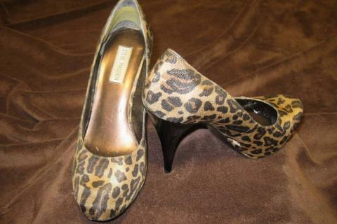 Leopard Steve Madden Size 10 Photo