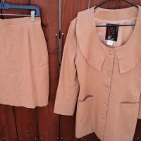 Linen Skirt/Jacket set made in France Photo
