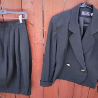 PSI Alvin Bell 100% wool skirt/jacket set Photo