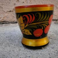 Russian Folk Art Cup Photo