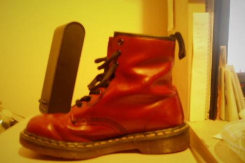 Vintage Doc Martins 1460  Photo