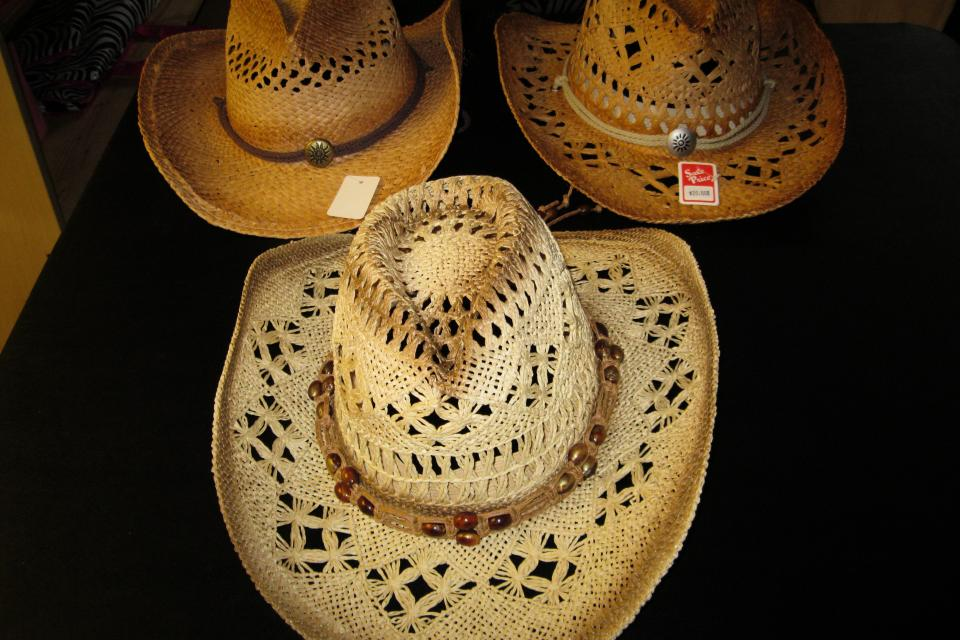 Plain Cowboy hats Large Photo