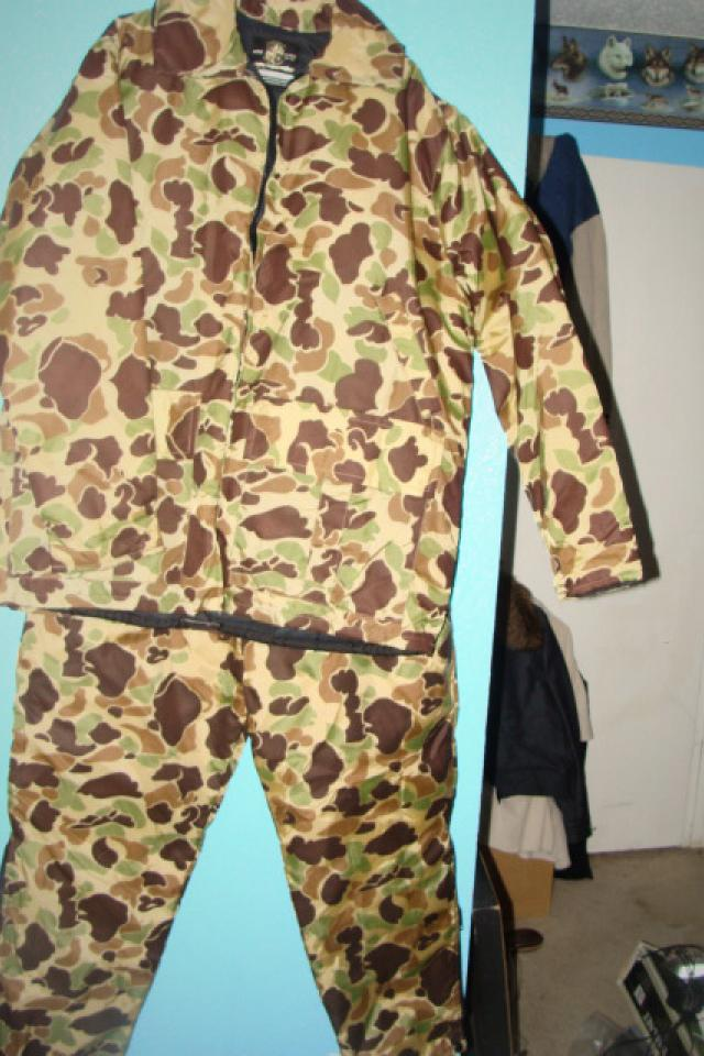 Stearns Hunting Jacket & Pants Suit Never worn XL 48-50 Large Photo