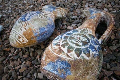 Southwest Decor Pottery Photo
