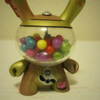 Gold Gumball (Mr. Frames) Dunny Photo