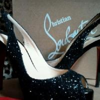 Christian Louboutin Sexy Slingbacks Glitter Photo