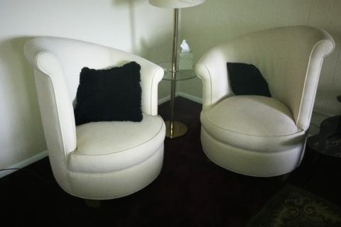 TWO CUSTOM CHAIR Photo