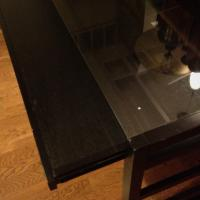 Black Desk from Crate and Barrel Photo
