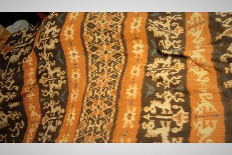 19th Century Indonesian Ikat Covering Photo