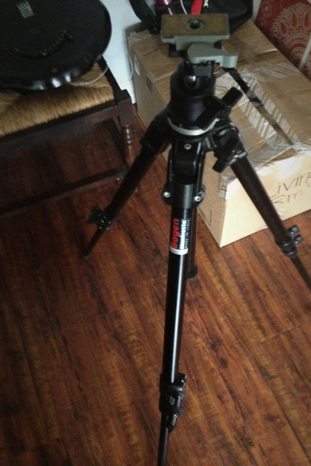 Bogen Manfrotto Tripod $150 obo Large Photo