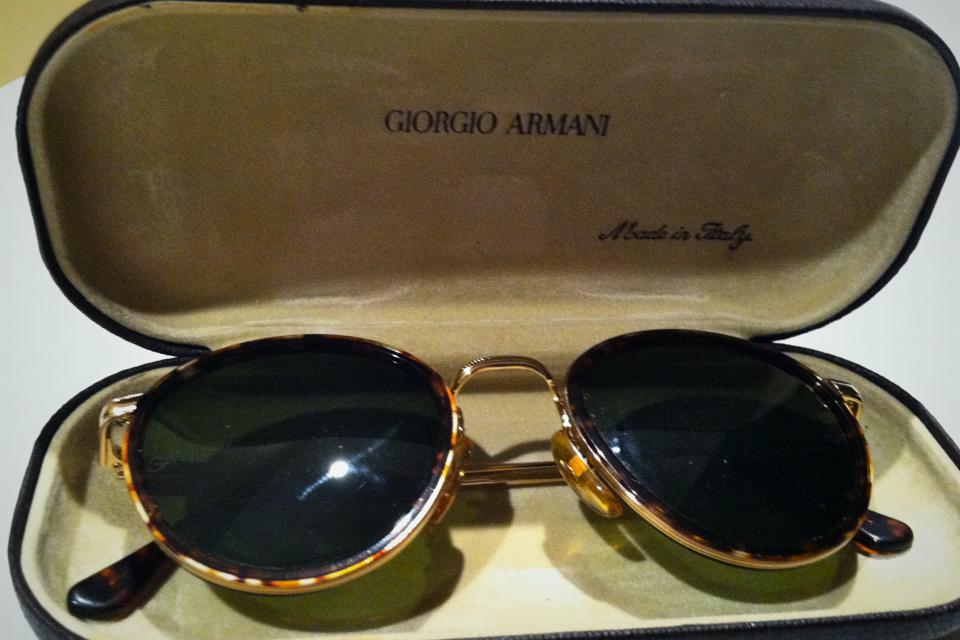 Gorgio Armani Vintage Sunglasses (713- Tortoise)  Large Photo