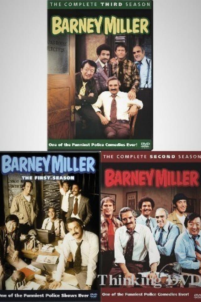 Barney Miller Complete Seasons 1-3 DVD Photo