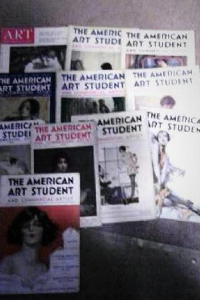 1920s American Art Student Magazines Photo