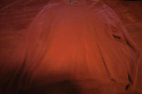 Men's L Cotton Eddie Bauer red shirt Photo