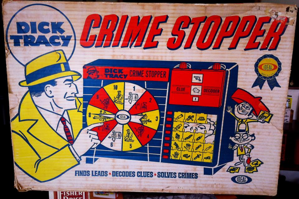 Vintage Dick Tracy Crime Stopper Game Large Photo