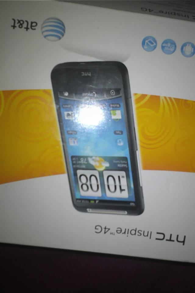 Brand New HTC Inspire 4g AT&T Large Photo