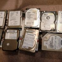 40 GB PC IDE Hard Drives -  Lot of 8 Photo