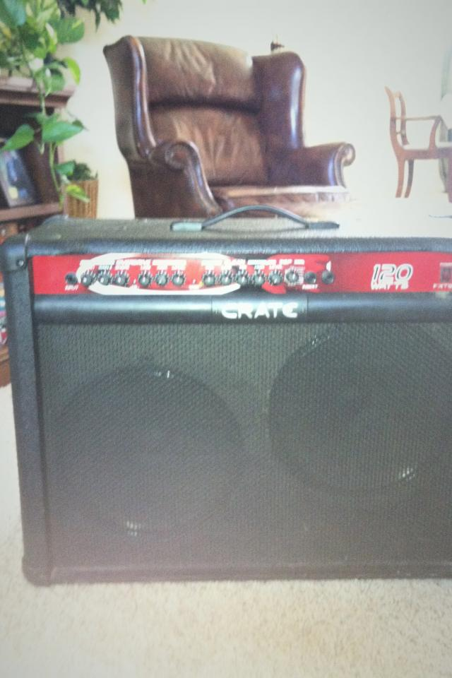 Crate FXT120 Guitar Amp Photo