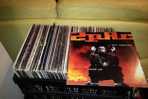 90/00s Vinyl Collection (Hip Hop) Photo