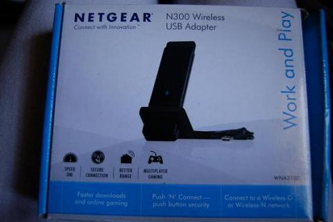 Netgear N300 wireless adapter Photo
