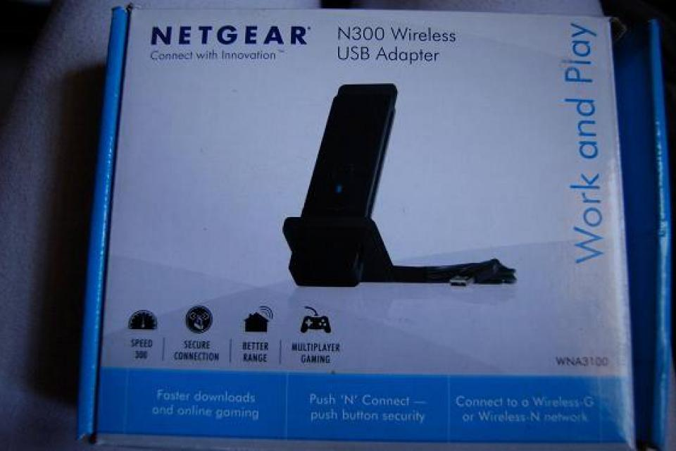 Netgear N300 wireless adapter Large Photo