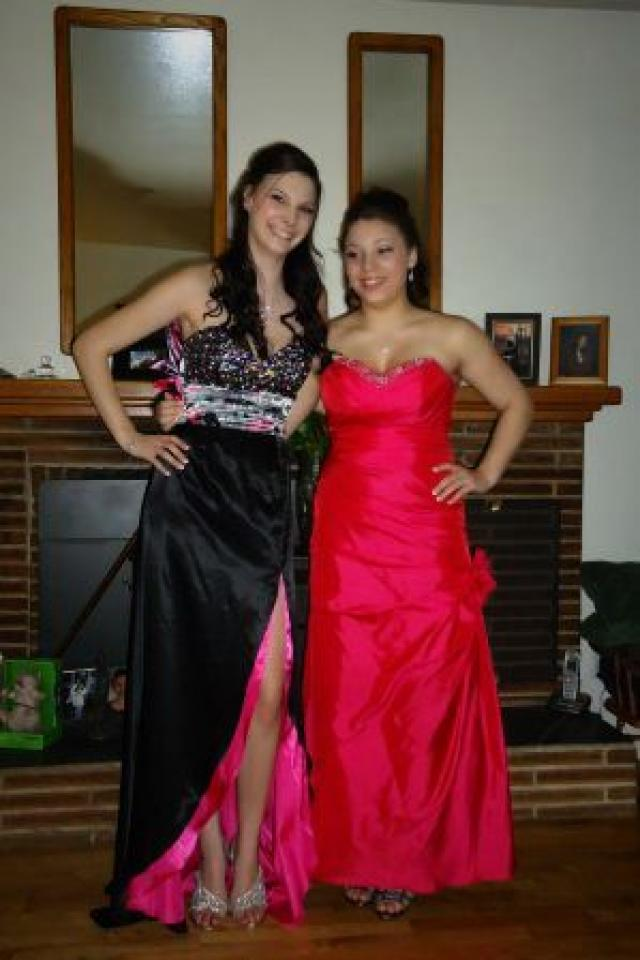 Long HEATHER FRENCH -One of a kind-Prom Dress Photo